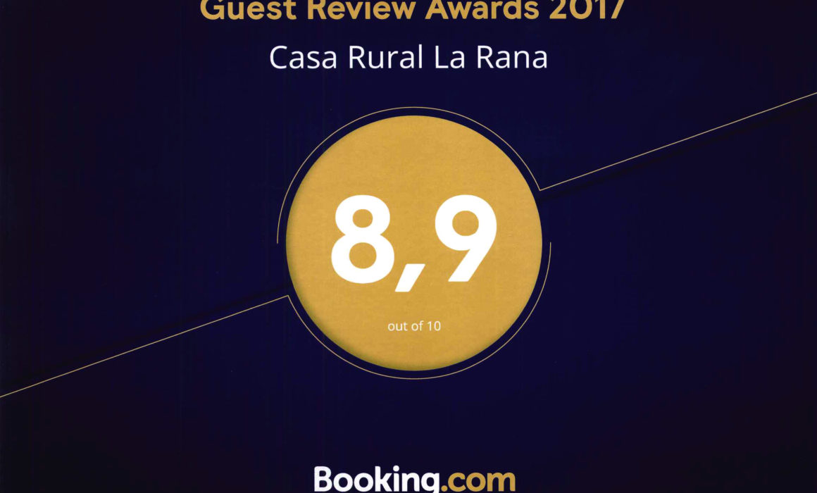 Booking 2017 - Casa Rural La Rana (8.9)